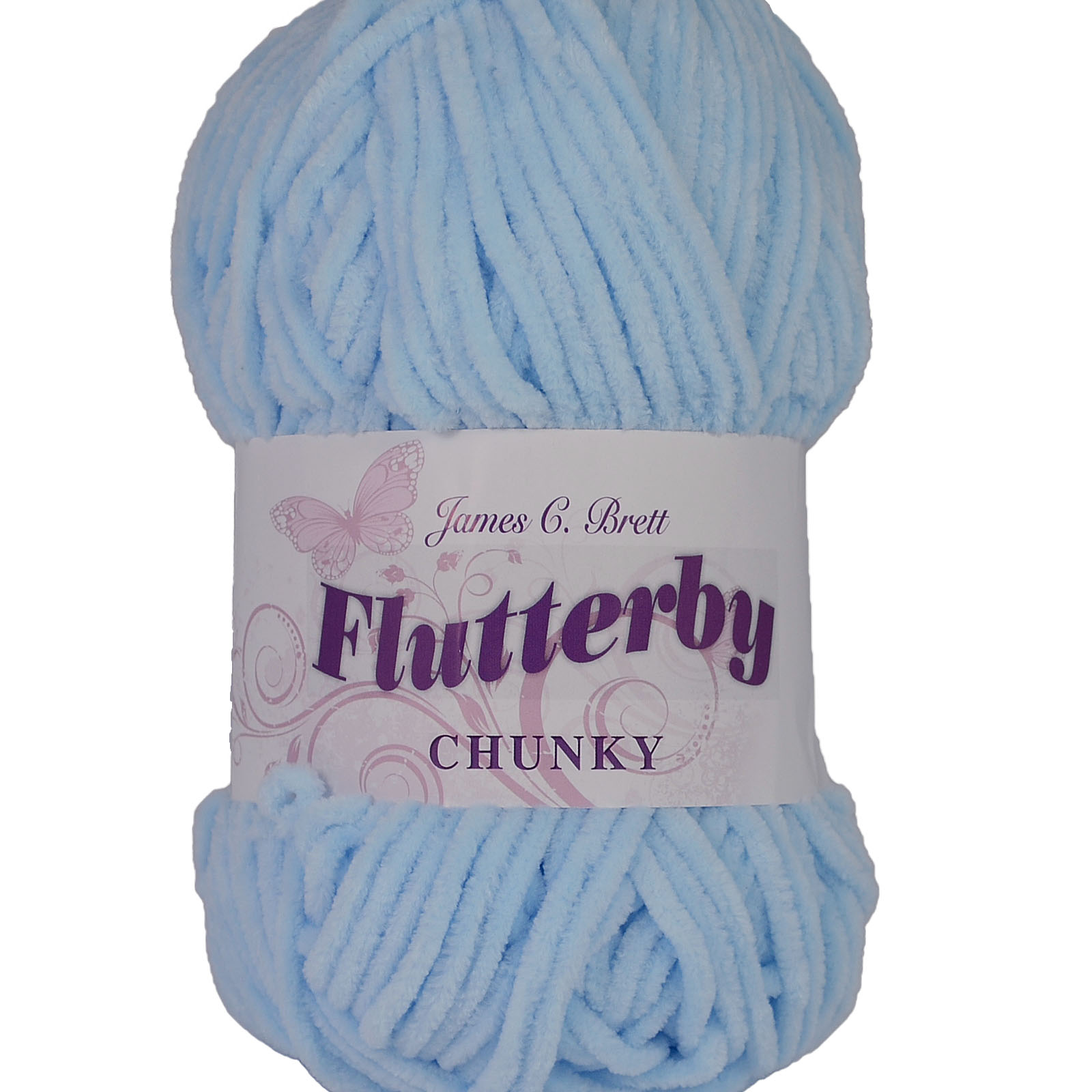 James C Brett  Flutterby Chunky Knitting Wool Yarn 100g B11 Apple