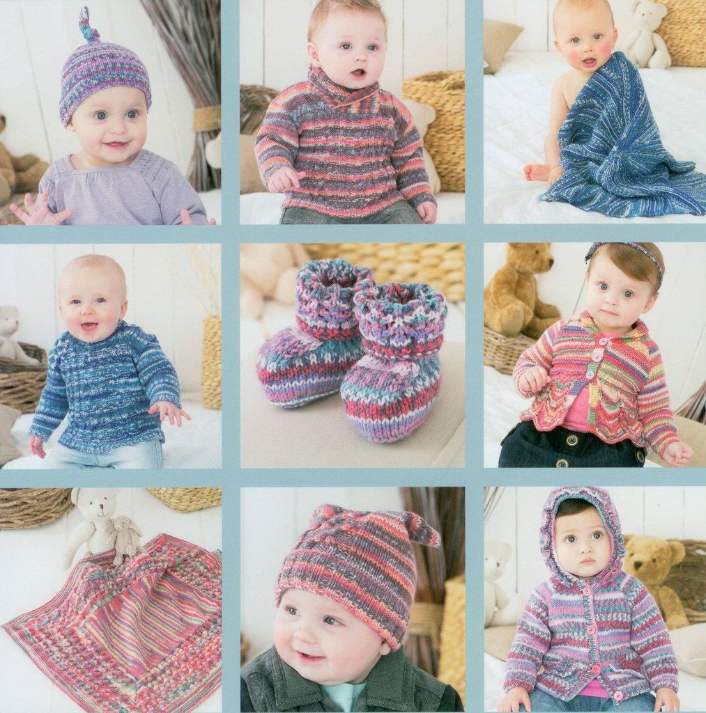 5c9cdee914b5 Sirdar Snuggly Baby Crofter 7 Pattern Book 445 UK