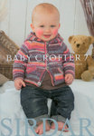 Sirdar Snuggly Baby Crofter 7 Pattern Book 445