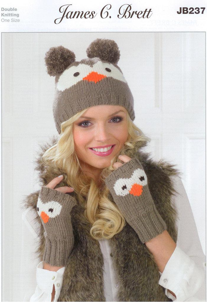 Buy Hats And Finger Gloves Jb237 James C Brett Knitting Pattern