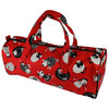 Sheep Print Red Rectangular Knitting Craft Bag