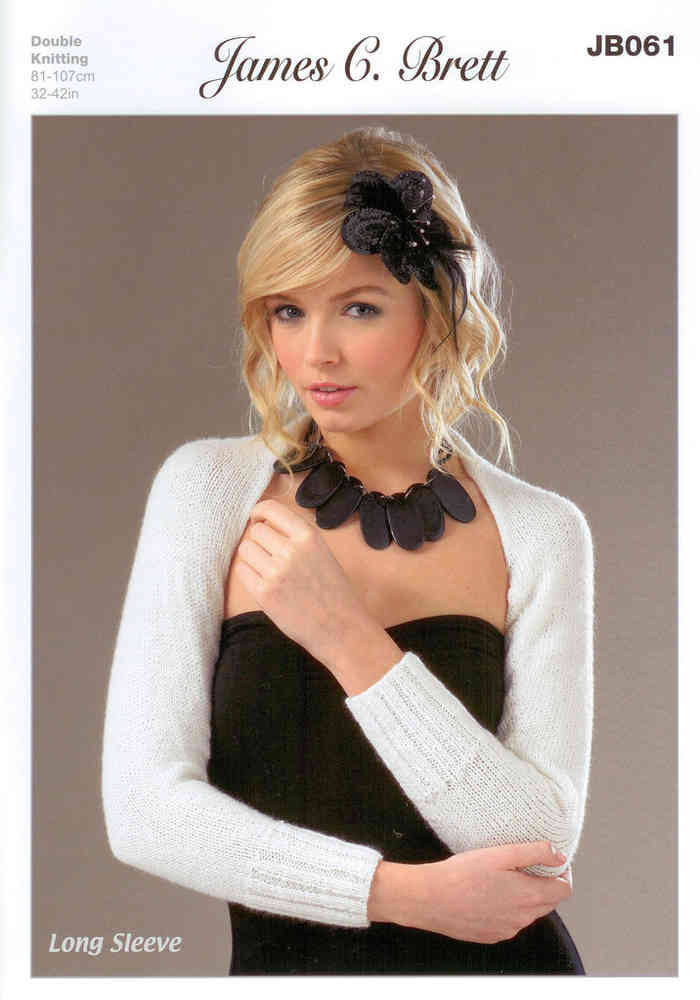 Buy Shrugs And Scarf Jb061 James C Brett Dk Knitting Pattern