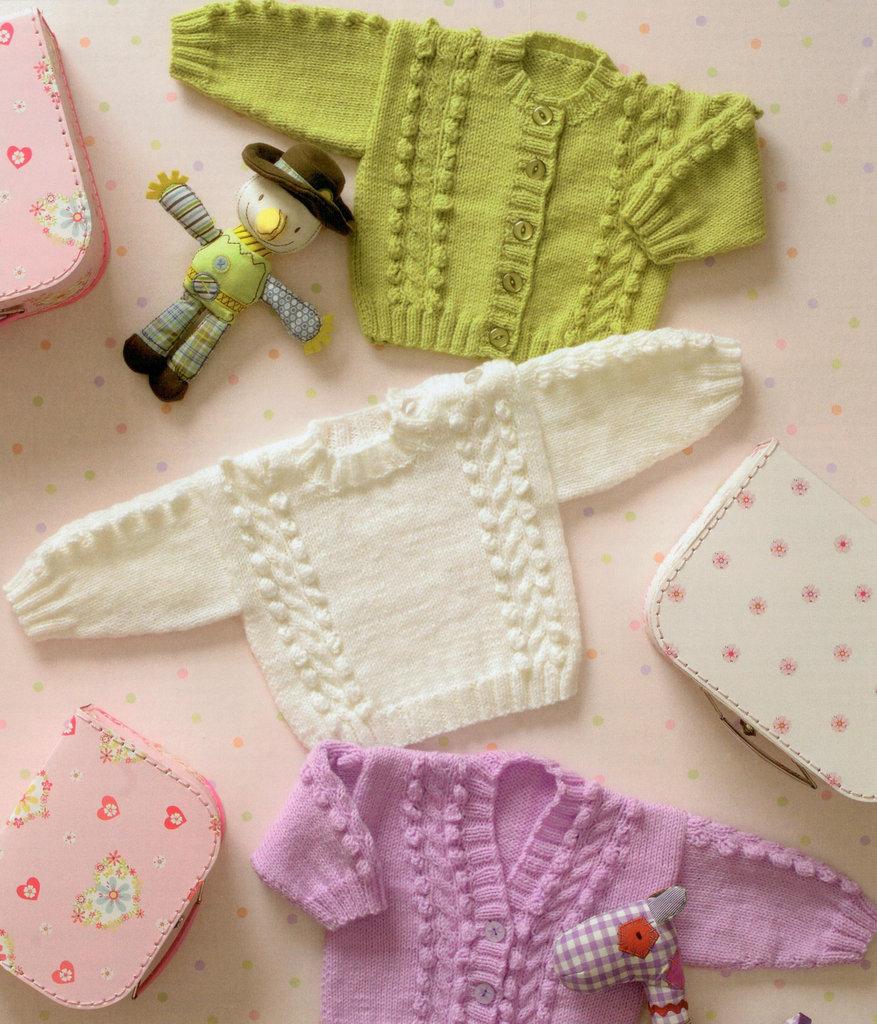 Cardigans and Sweaters JB037 James C Brett DK Knitting Pattern