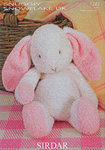 Flopsy The Bunny Sirdar 1243 Knitting Pattern