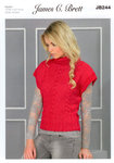 Ladies Tabbard JB244 James C Brett Oyster Knitting Pattern