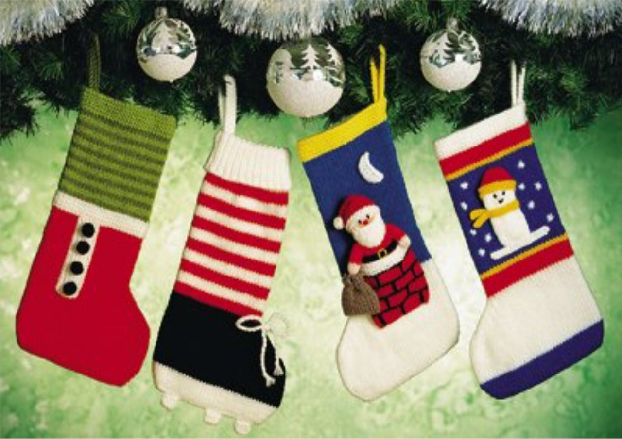 Knitted Christmas Stockings Patterns