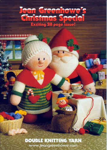 Jean Greenhowe Christmas Special Knitting Pattern Book