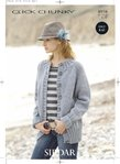 Sirdar 8938 Knitting Pattern Ladies Jacket in Sirdar Click Chunky