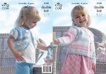 King Cole 3158 Knitting Pattern Baby Girls Cardigan and Bolero in King Cole Melody DK