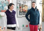 King Cole 4297 Knitting Pattern Sweater and Hoodie in King Cole Florence Chunky