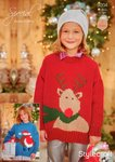 Stylecraft 9204 Knitting Pattern Christmas Jumpers in Stylecraft Special DK and Eskimo DK