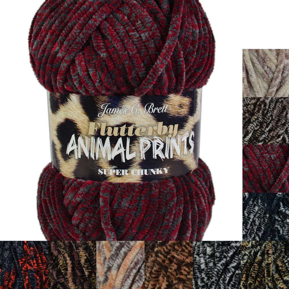 James Brett Flutterby Super Chunky Knitting Pattern Womens Jacket JB331
