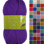 King Cole Merino Blend DK 100% Superwash Knitting Wool