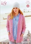 Stylecraft 9192 Knitting Pattern Ladies Cardigans in Stylecraft Life Aran
