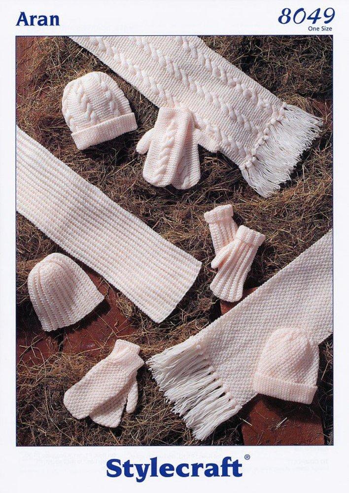 Stylecraft 9015 Knitting Pattern Shawl Scarf /& Snoods in Alpaca Tweed DK
