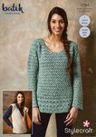 Stylecraft 9294 Crochet Pattern Womens Tunic and Waistcoat in Stylecraft Batik DK