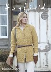 Sirdar 7798 Knitting Pattern Womens Coat in Hayfield Bonus Aran