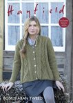 Sirdar 7795 Knitting Pattern Womens Swing Coat in Hayfield Bonus Aran Tweed