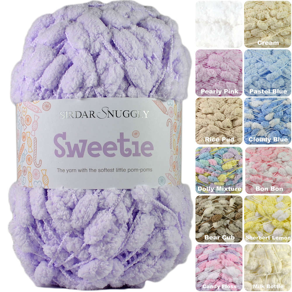 Sirdar Snuggly Sweetie Pom Pom Knitting Yarn