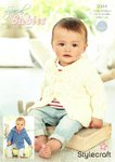 Stylecraft 9344 Knitting Pattern Baby Childrens Coats in Stylecraft Special for Babies Aran