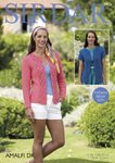 Sirdar 7926 Knitting Pattern Womens Short and Long Sleeved Jackets in Sirdar Amalfi DK