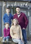 Sirdar 7987 Knitting Pattern Family Cardigans in Hayfield Bonus Aran