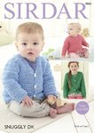 Sirdar 4860 Crochet Pattern Baby Childrens Easy Crochet Cardigans in Sirdar Snuggly DK