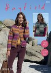 Sirdar 8042 Knitting Pattern Womens Easy Knit Cardigans in Hayfield Spirit DK
