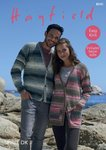 Sirdar 8040 Knitting Pattern Womens Mens Easy Knit Cardigans in Hayfield Spirit DK