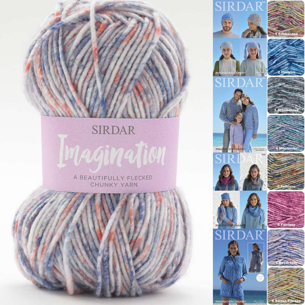 Sirdar Ladies Waistcoats Imagination Knitting Pattern 8061 Chunky Sirdar-8061