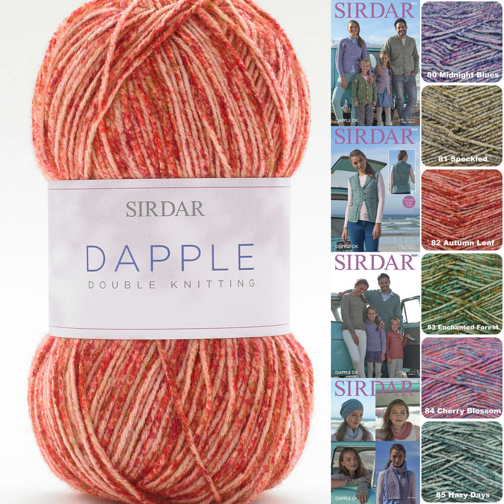7d5f9bf5211056 Sirdar Dapple DK Colour Effect Yarn