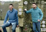 King Cole 4926 Knitting Pattern Mens Raglan Sweater and Hoodie in King Cole Majestic DK