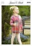 James C Brett JB456 Knitting Pattern Girls Tunic and Jacket in James C Brett Marble Chunky