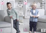 King Cole 5107 Knitting Pattern Baby Childrens Sweater and Waistcoat in Comfort and Comfort Kids DK