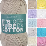 James C Brett Its Pure Cotton
