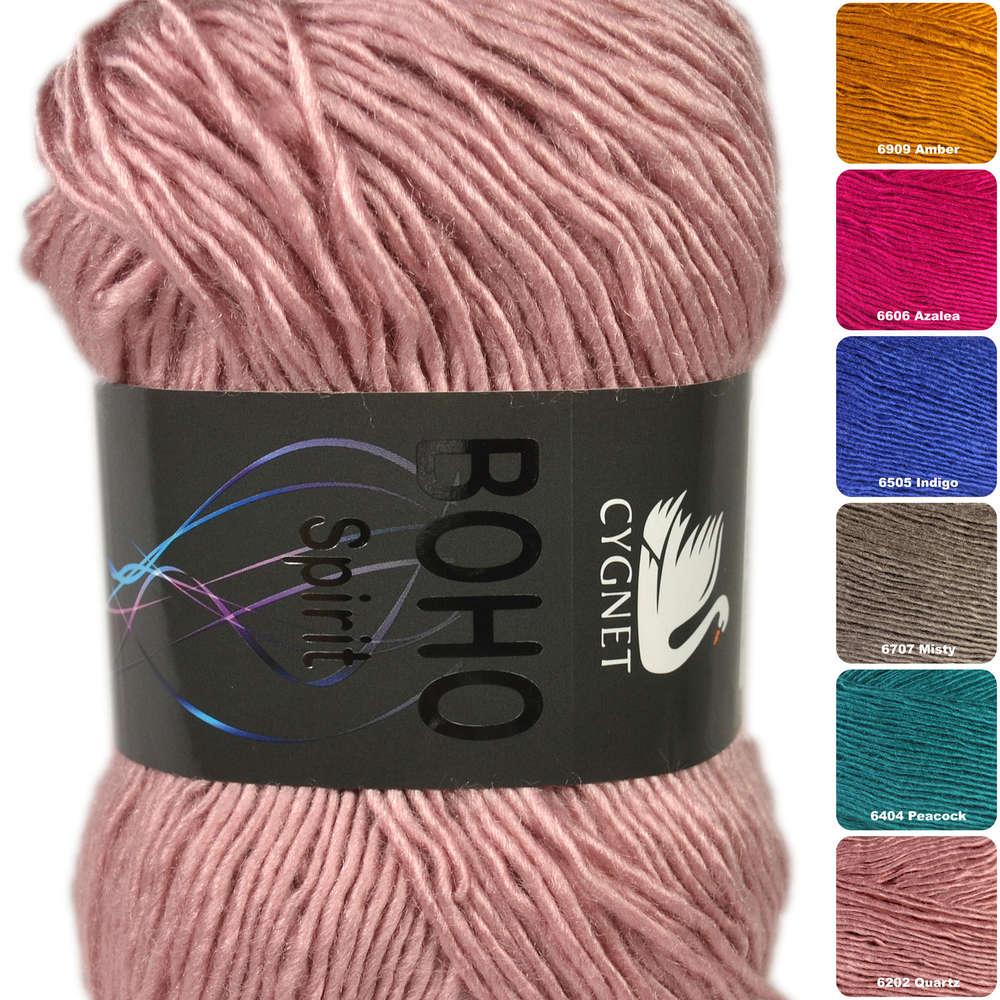 6707 Misty Cygnet Boho Spirit Double Knitting Yarn 100g