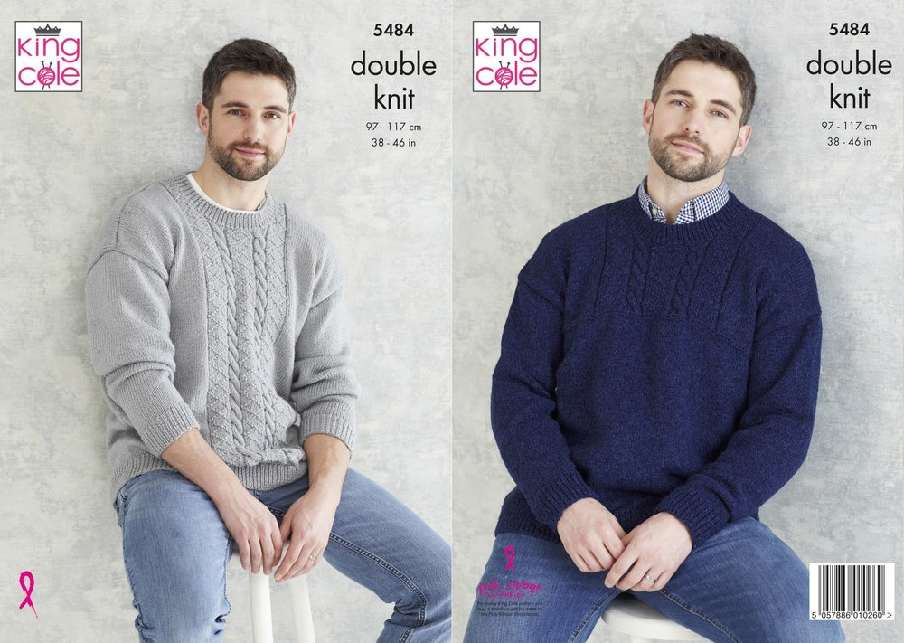 Baby Double Knitting Pattern King Cole Waistcoat Long Short Sleeve Cardigan 4394