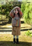 James C Brett JB657 Knitting Pattern Childrens Jacket Scarf Hat Mittens in Marble Chunky