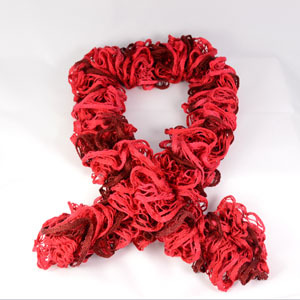 Buy Frilly Ruffle Scarf Yarn Online at Athenbys
